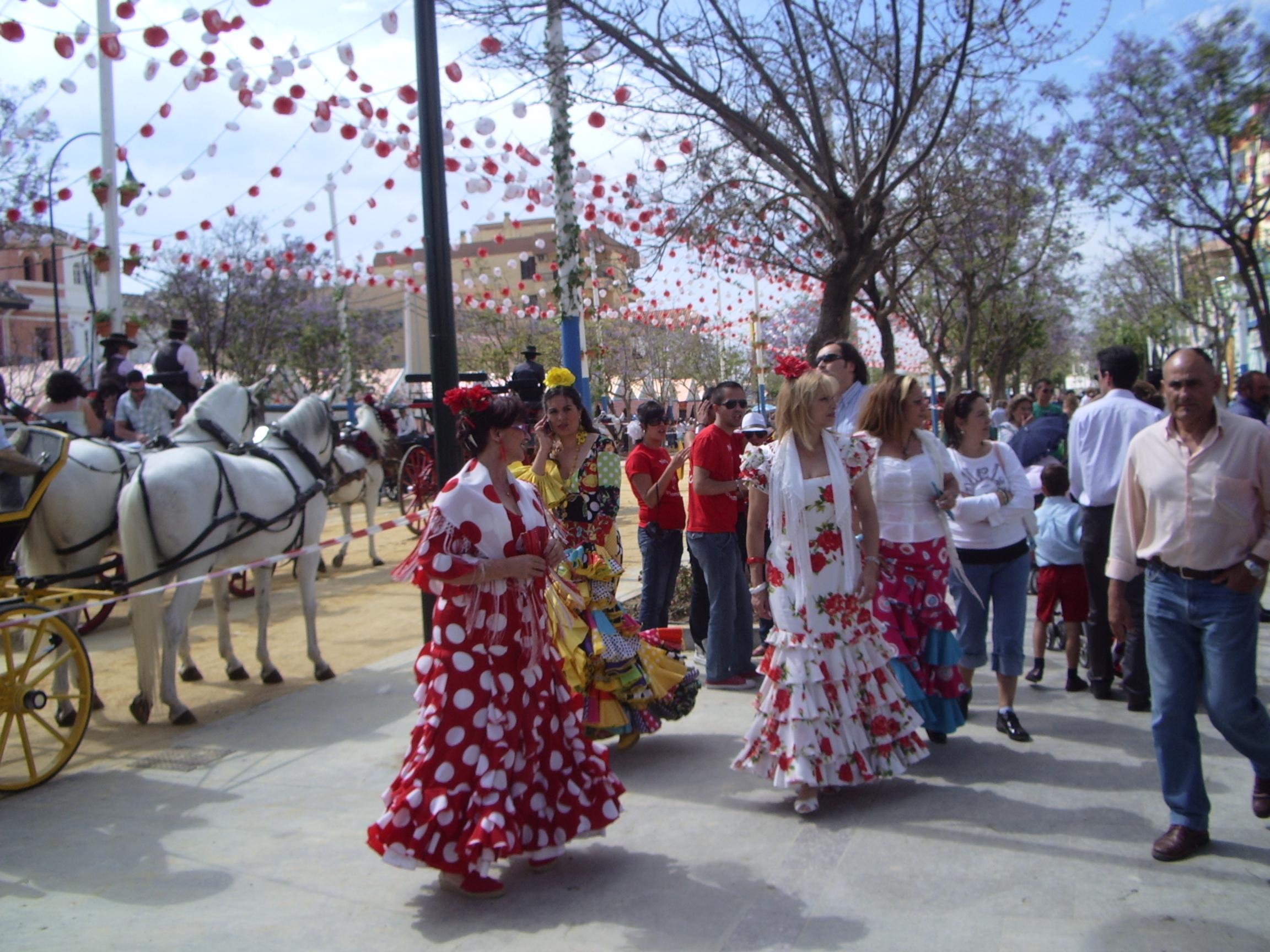 ярмарка в Малаге