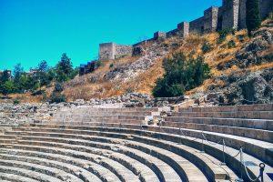 Римский театр в Малаге – Academia CILE – курсы испанского языка