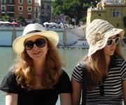 Etudiants qui ce balade a Malaga