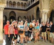 malaga una ciudad bonita para hacer visitas con estudiantes