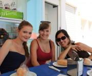 Fotogalerie Spanischkurse - Gemeinsame Essen - Lehrer udn Schüler - sind Tradition am CILE