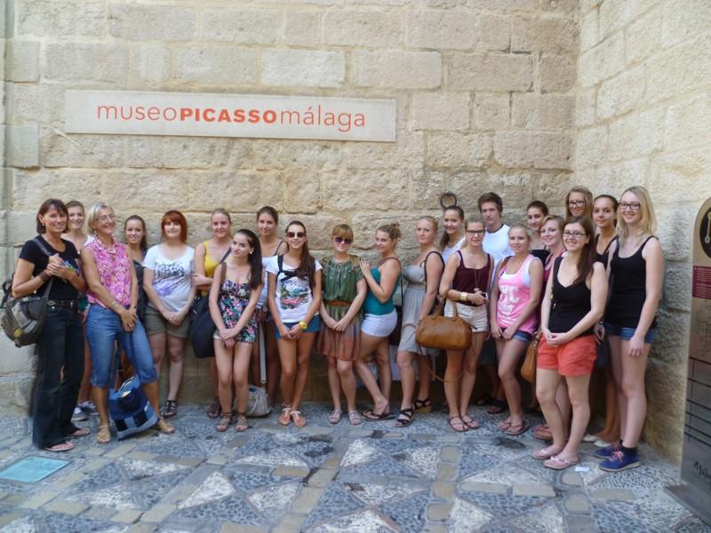Unsere Sprachschüler besuchen das Picasso Museum