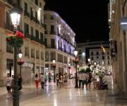 Calle larios CILE академия малага курсы испанского Малага Испания