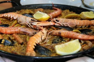 Spanish food: paella - learn Spanish in Malaga by Academia CILE
