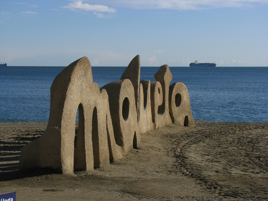 Beaches in Spain: Malagueta - study Spanish in Malaga at Academia CILE
