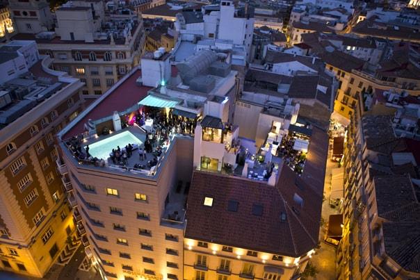 Rooftopbar Malaga