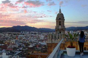 Über den Dächern Malagas – die besten Rooftopbars