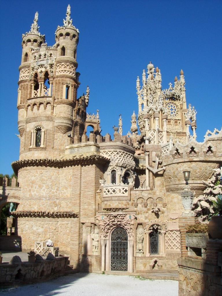 замок Castillio de Colomares