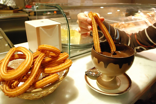 Churros-with-Chocolate