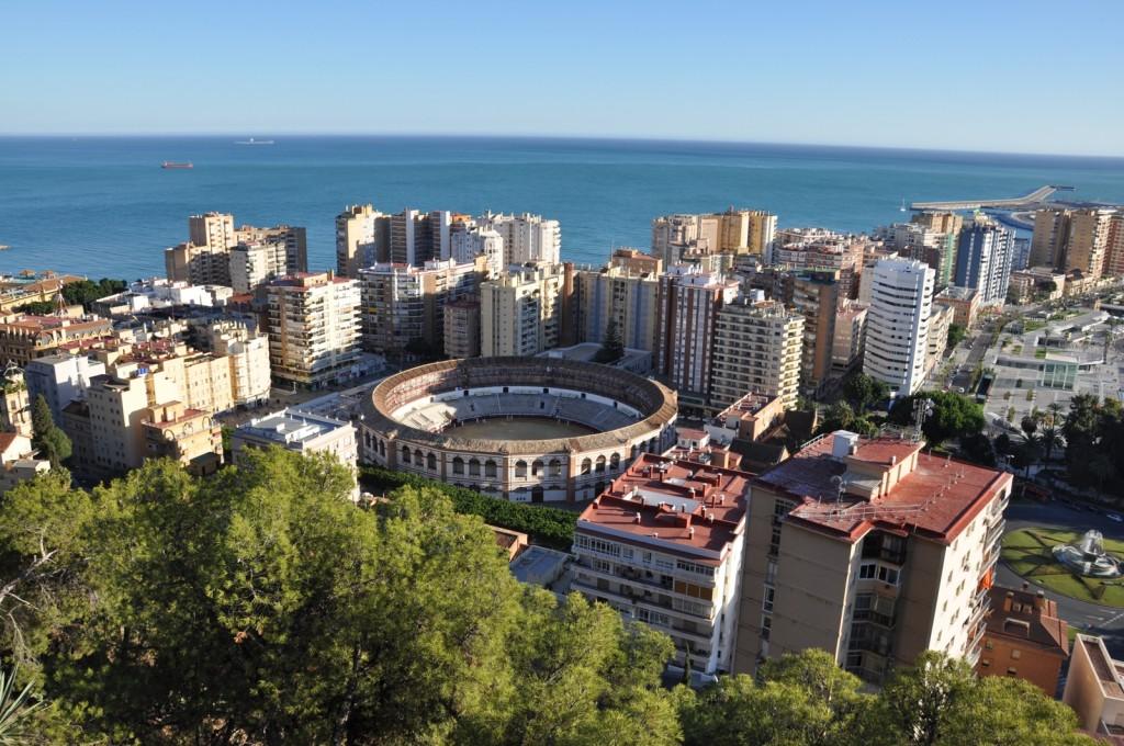 Geniessen Sie den Ausblick über Malaga