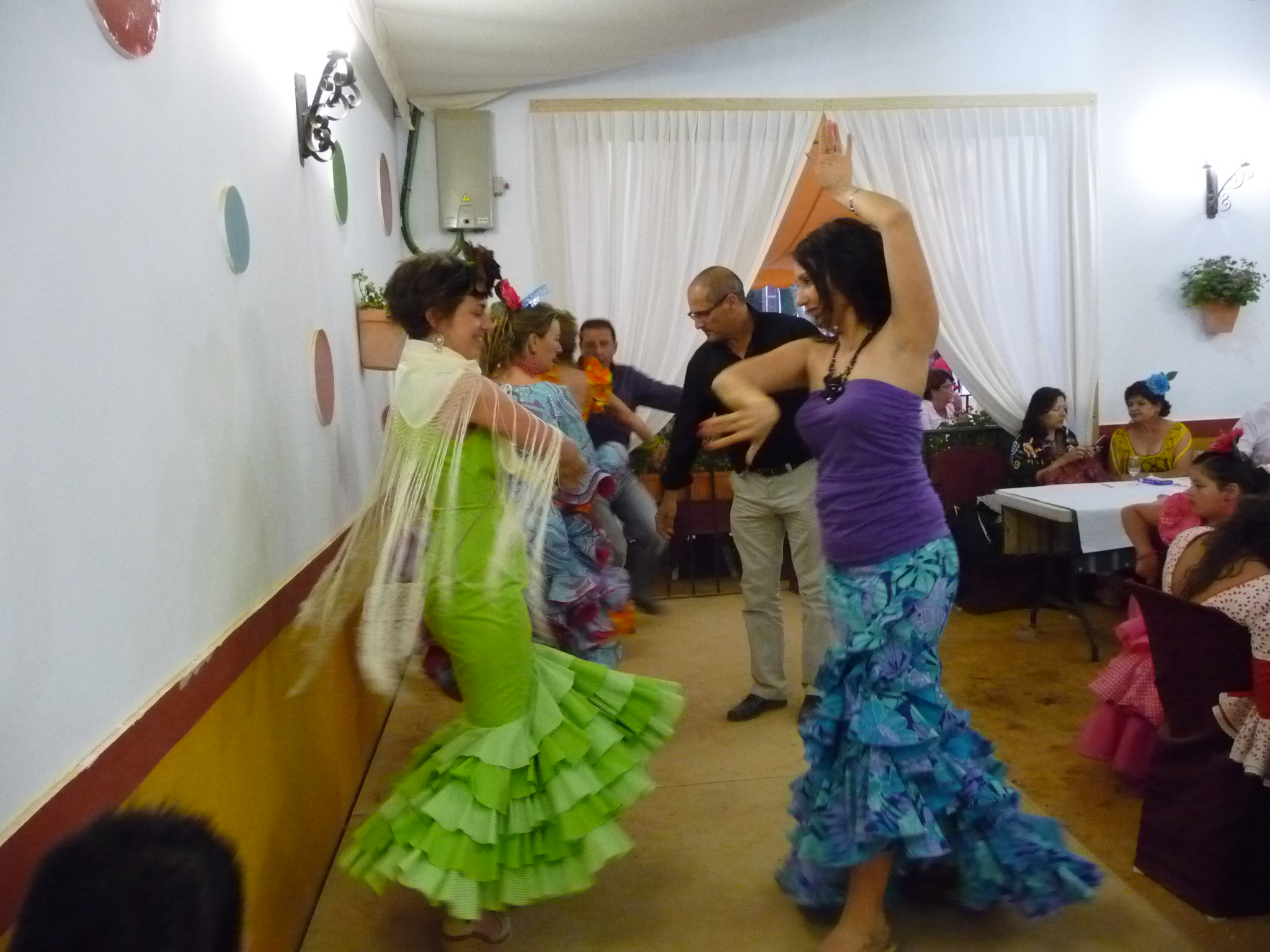 Spanish dance - study Spanish in Malaga at Academia CILE