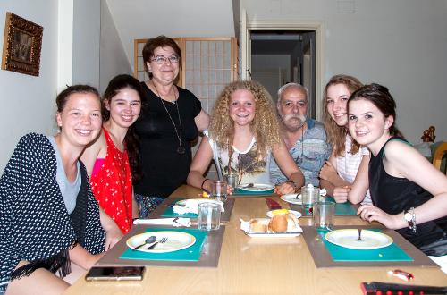Leben in einer Gastfamilie hat seine Vorteile