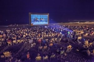 Open-Air-Kino in Malaga