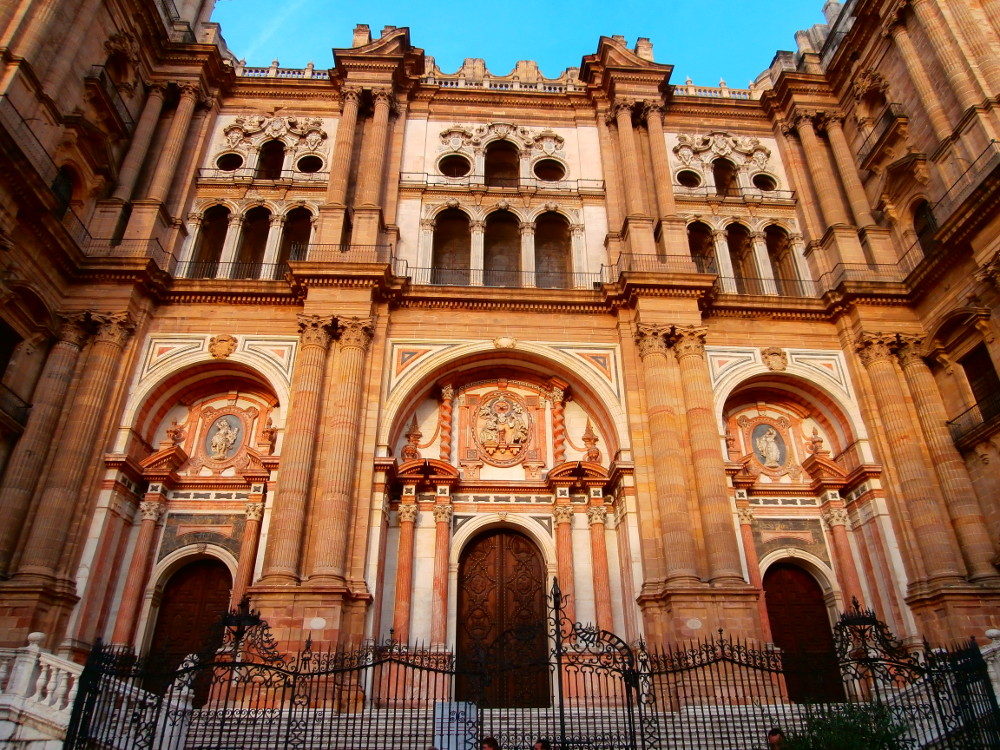 imposante Bauwerke in Malaga - Spanischkurse bei CILE