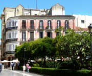 Spanish school in Spain: Málaga. Next to the Cathedral.