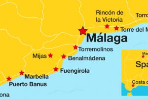 Beliebteste Urlaubsorte an der Costa del Sol