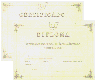 official diploma, CILE certificates and diploma of spanish as a foreign language are issued by CILE