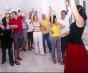 Cours de flamenco a l'ecole