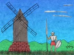 Spanish hero Don Quixote - learn Spanish in Malaga at Academia CILE