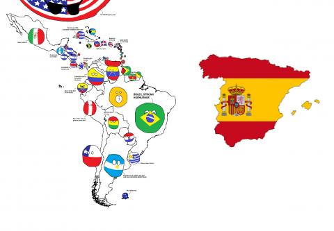 Lateinamerika vs Spanien - Spanischkurse in Malaga