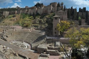 Things to see in Malaga: the Alcazaba palace and the Roman Theater