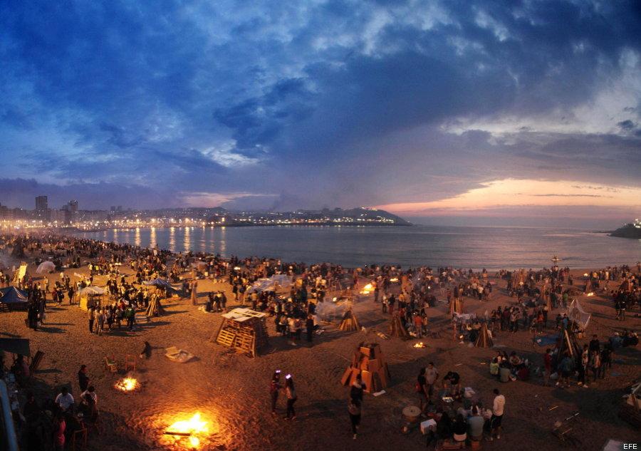 Noche de San Juan - Academia CILE - Spanischkurse in Malaga