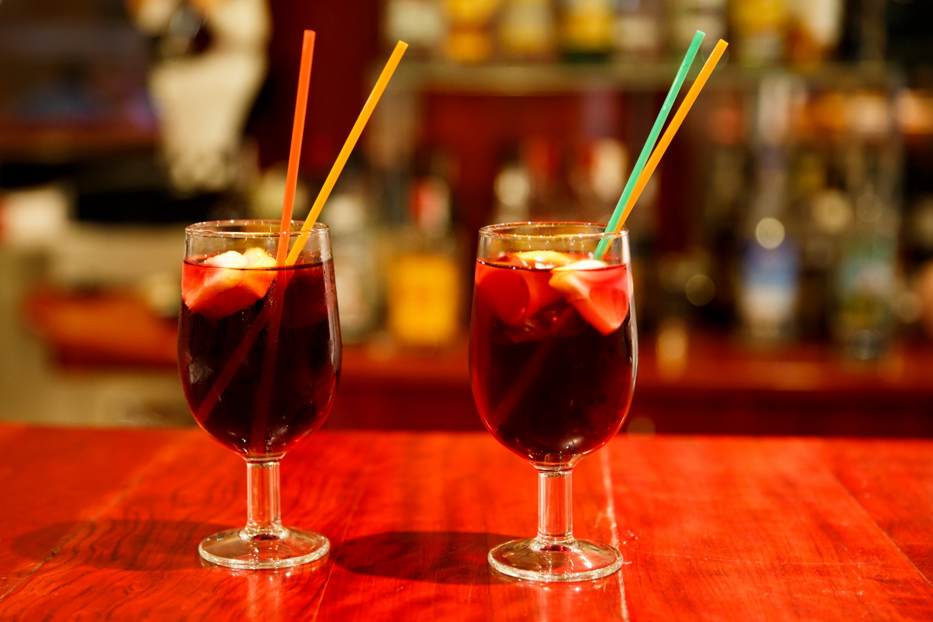 sangria drinks - study Spanish at Academia CILE in Malaga