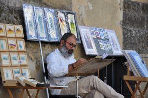 Das Kunstviertel Malagas
