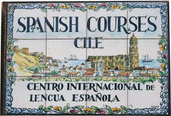 cursos de espanhol no CILE escola de idiomas no centro de Málaga, em Espanha