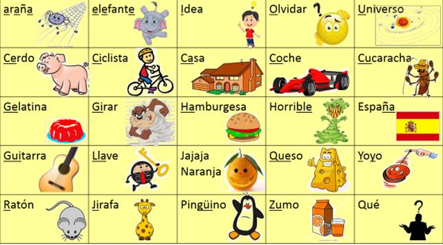 Unsere Schüler lernen spanische Vokabeln im Unterricht