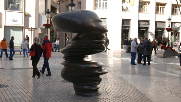 Skulpturen in Malaga