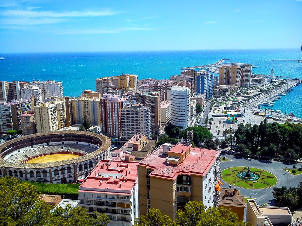 Places where one loved: Malaga - Spanish School in Spain Academia CILE